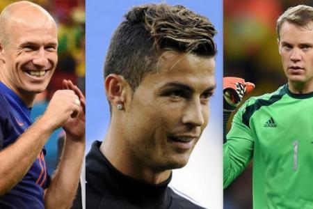 Neuer, Robben, Ronaldo up for UEFA award
