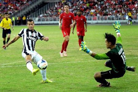 Goalkeeper Hassan impresses despite heavy defeat