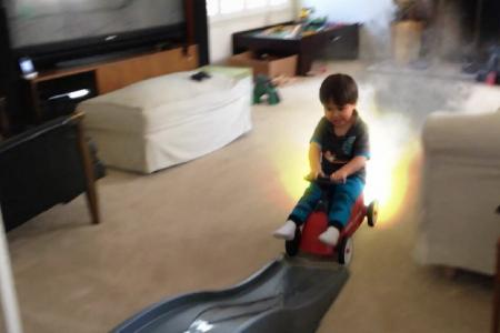 Animator uses special effects on son's videos - and the result is awesome