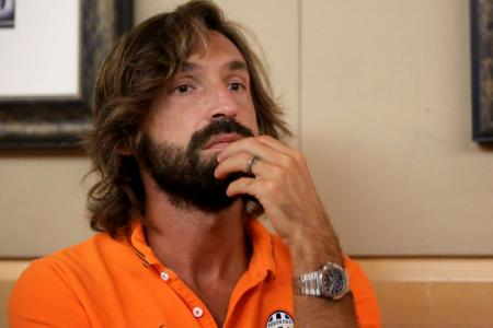 Pirlo sidelined for a month