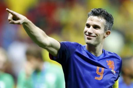 RVP can't wait to train with new Man Utd colleagues