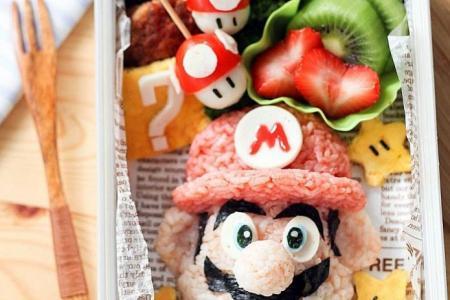 Singapore mum turns children's bento meals into works of art