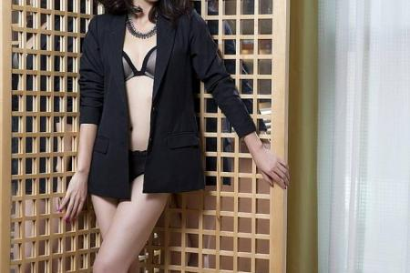 Actress Pamelyn Chee not into handsome guys