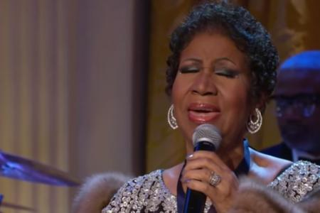 LISTEN: Aretha Franklin covers Adele's Rolling in the Deep