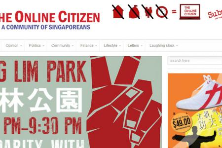 Company behind The Online Citzen website told to register under Broadcasting Act