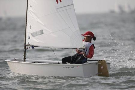 13-year-old sailor strikes gold at Asian Games as youngsters make their mark