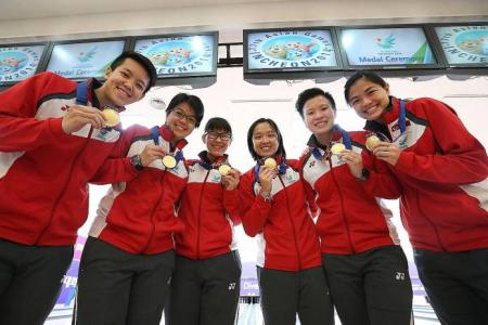 Women bowlers deliver historic team Asiad gold