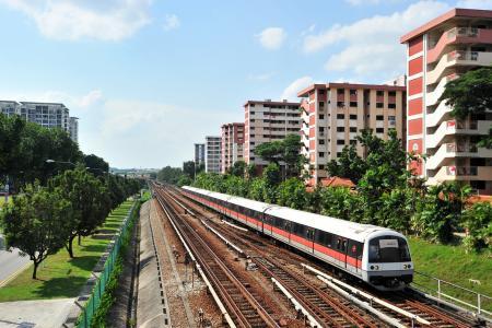 Shorter waiting times for MRT trains