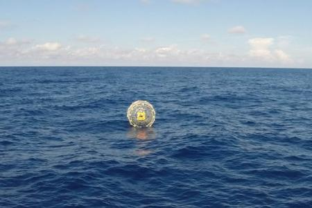 Man rescued from inflatable bubble off the coast of Florida