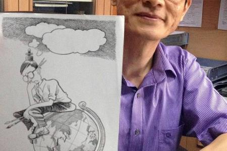 Singapore cartoonist gets threats over alleged racist cartoon
