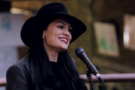 WATCH: Jessie J surprises fans as she goes busking in London