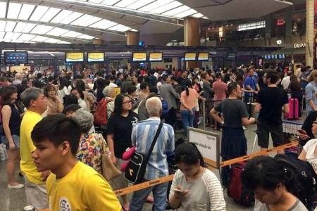 5 Scoot flights delayed, 