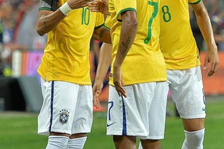 Awesome foursome for Neymar and Brazil