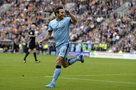 New lease of life at City for Lampard