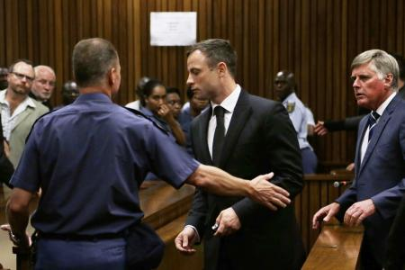 Oscar Pistorius may serve less than a year if he 'poses no trouble'