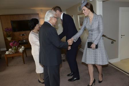 PICTURES: Kate Middleton jokes with President Tony Tan