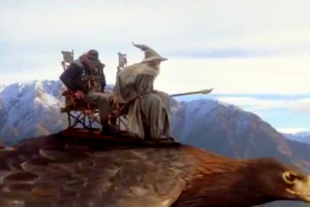 Watch: Air NZ's epic safety video has hobbits, elves and, of course, the One Ring