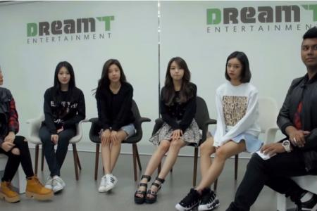 Dee Kosh meets Girl's Day who can't wait to perform in S'pore for the first time'