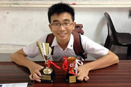 Hwa Chong boy exempted from year-end exams says it's no big deal