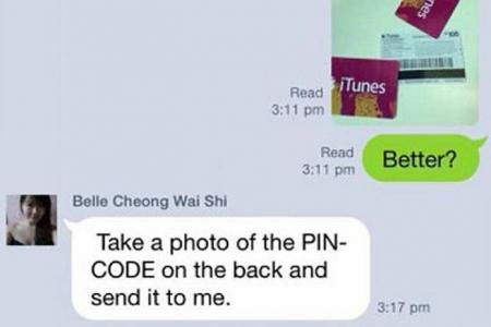 itune card scams