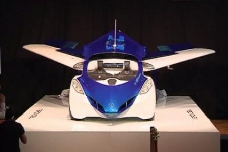 WATCH: The world's first production-ready flying car