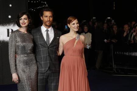 Christopher Nolan's new 'family' go to infinity and beyond in Interstellar