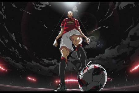 WATCH: Rooney, RVP and di Maria star in anime ad for...Nissin?!