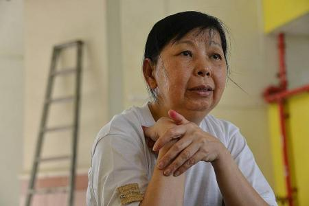 Marsiling 'cardboard auntie' didn't know how to stop working