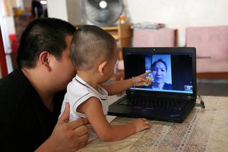 S'pore man faces child-care plight after China wife is barred from S'pore