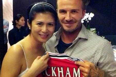 When Beckham met Beckham