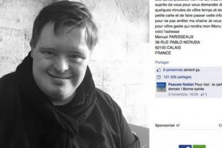 His mum posts Facebook request - and man with Down's Syndrome gets 30,000 birthday cards