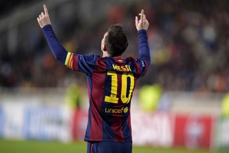 Messi nails Champions League record with a hat-trick,  Suarez breaks duck