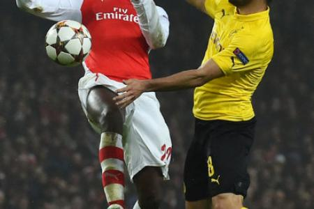 Champions League: Crucial win for Arsenal, so Wenger's job is safe... for now
