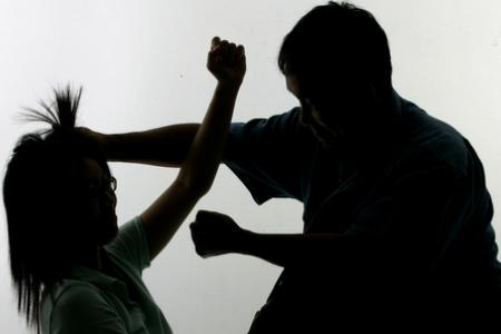 Husband punches and kicks out wife after she asks him about credit card spending