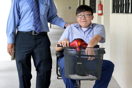 Teacher buys $1,200 scooter for student with cancer