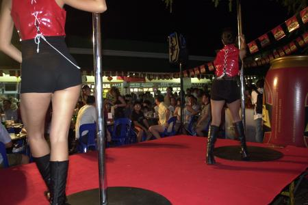 40 pole dancers arrested in Malaysia, police say they offered sexual services
