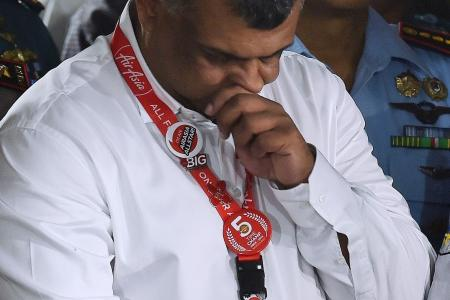AirAsia's Tony Fernandes says he's not running away from obligations