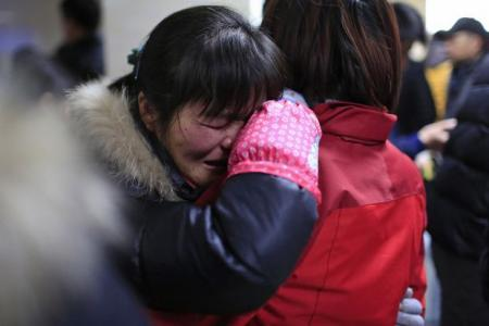 New Year tragedy: Stampede in Shanghai after fake money thrown to crowd