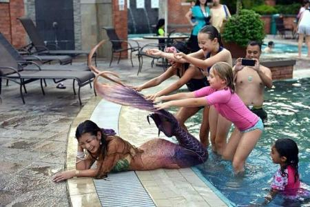 S'pore 'mermaid' makes $500 an hour from $5,000 tail