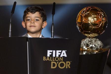 WATCH: Surprise, surprise - Cristiano Ronaldo's son is a Messi fan