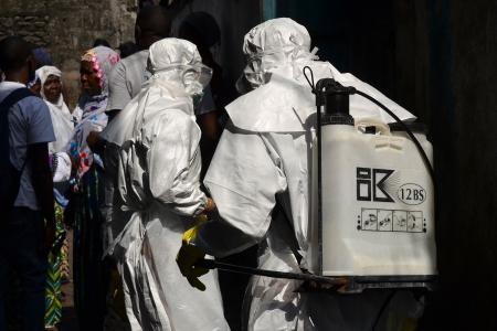 Mob kills men in Guinea suspected of spreading Ebola