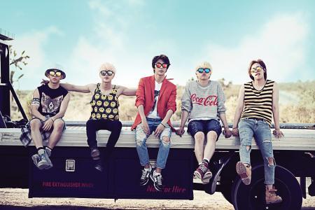 M'sian fans who hugged K-pop band B1A4 could face arrest for public indecency