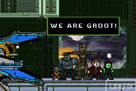 WATCH: Guardians of the Galaxy in 3 minutes, old school gaming style