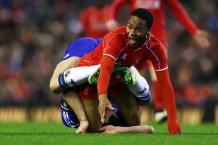 WATCH: Sterling and Terry get all knotted up in a compromising position