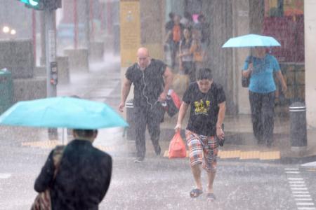 Rain, rain will go away