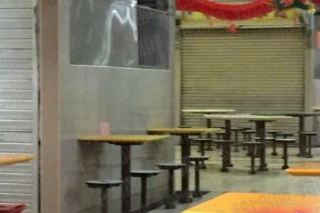 Rats and roaches seen scurrying around Teck Ghee hawker centre