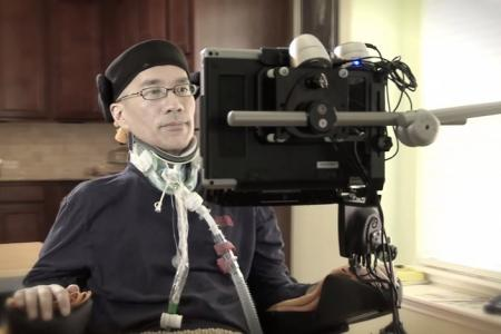 WATCH: ALS-stricken artist creates amazing artwork using just his eyes