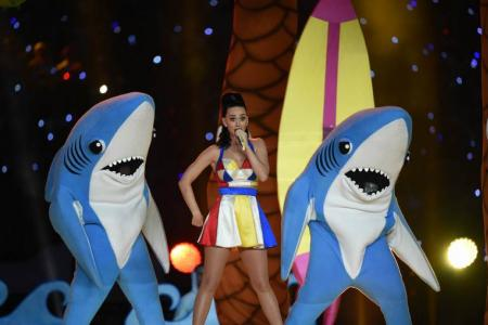 Super Bowl dancing sharks reveal their identities