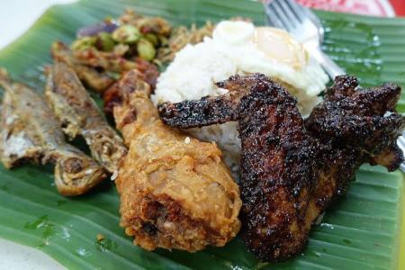 Nasi lemak is her family's trademark