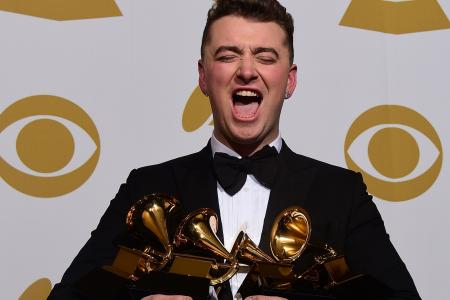 Sam Smith's broken heart wins him four awards at the 2015 Grammy's